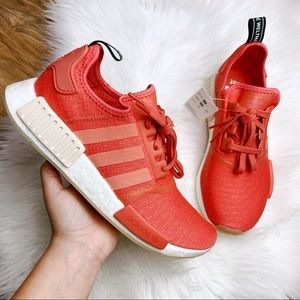 Adidas NMD R1 Coral White